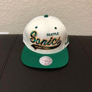 Seattle Sonics Mitchell & Ness Snapback